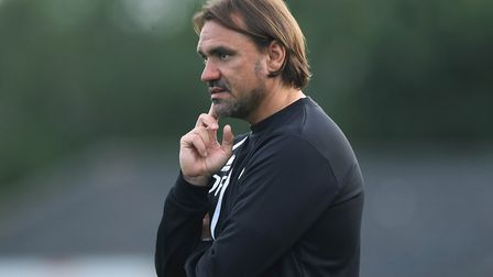 Daniel Farke has plenty of injury worries ahead of Norwich City's opener. Picture: Lorraine O'Sulliv