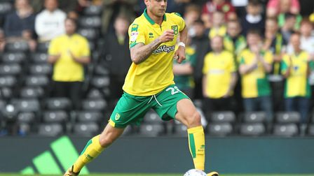 Marcel Franke made his Norwich debut during the Sky Bet Championship match at Craven Cottage, London