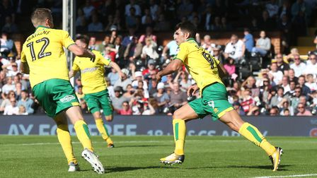 Nelson Oliveira earned Daniel Farke's Norwich City a point at Fulham. Picture: Paul Chesterton/Focus