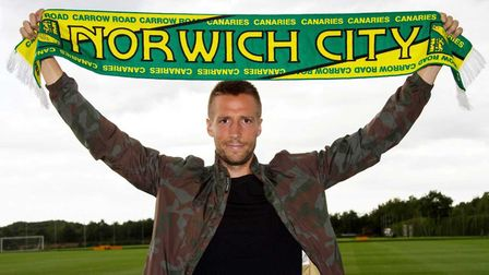 New City signing Marco Stiepermann. Picture: Norwich City FC