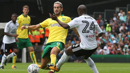 Mario Vrancic made his Norwich City league debut at Craven Cottage. Picture: Paul Chesterton/Focus I