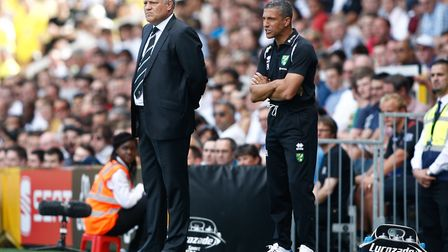 The day it all went wrong for Chris Hughton - his first match in charge of Norwich City, in August 2
