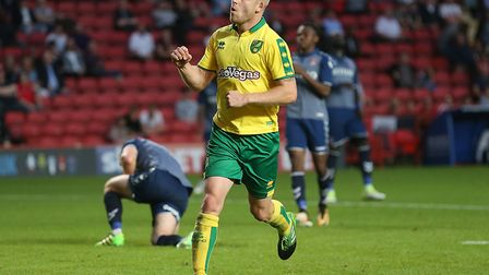 Steven Naismith made it 2-0 to Norwich at Charlton during pre-season. Picture by Paul Chesterton/Foc