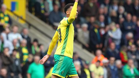 Josh Murphy celebrates after scoring City's third. Picture: Paul Chesterton/Focus Images Ltd