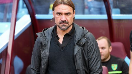 Daniel Farke is planning for a League Cup second round tie against Charlton on Tuesday. Picture by P