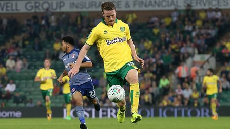 Marley Watkins was happy to be back in Norwich City action against Charlton, ahead of the weekend. P