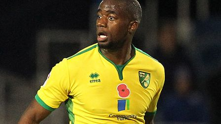 Sebastien Bassong is training with Birmingham following his Norwich City release. Photo: PAUL CHESTE