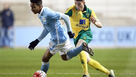 Norwich City youngster Henry Pollock has joined Norwich United on loan for a month. Picture: Jasonpi