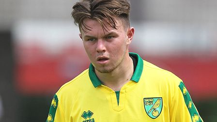 Glenn Middleton scored twice for Norwich City U23s against Stoke. Picture by Paul Chesterton/Focus I