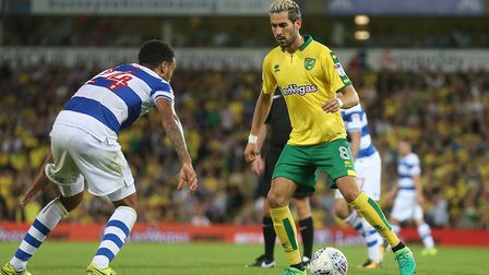 Norwich City fans saw some of the best of Mario Vrancic's football so far in the midweek win over QP
