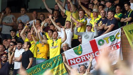The home fans certainly got behind their side from kick-off, in Daniel Farke's first Championship ga
