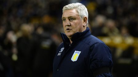 It's a struggle at the moment for Aston Villa manager Steve Bruce. Picture: PA