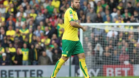 Grant Hanley is yet to make a start for the Canaries. Picture: Paul Chesterton/Focus Images Ltd
