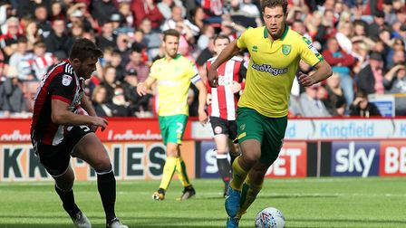 Yanic Wildschut had a positive impact for Norwich City on his return to starting action at Bramall L