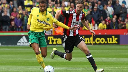 Josh Murphy on the charge at Bramall Lane. Picture: Michael Sedgwick/Focus Images Ltd