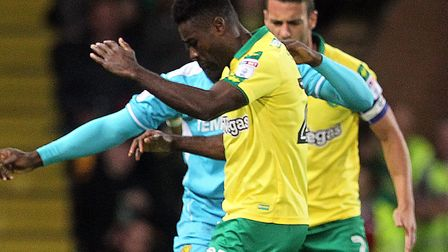 Alex Tettey is set to be rested against the Bees. Picture: Paul Chesterton/Focus Images Ltd