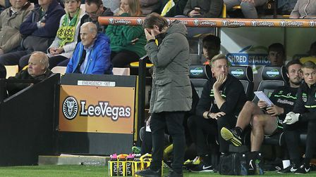Look away now... seeing City fail to break down Burton Albion proved a hard watch for head coach Dan