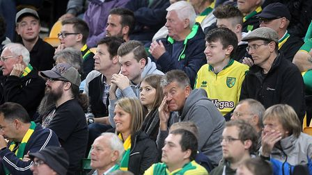 The frustrated faces of the home fans tells the story. Picture: Paul Chesterton/Focus Images Ltd