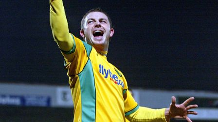 Jamie Cureton after scoring against Scunthorpe in December, 2007. Picture: Paul Hollands/Focus Image