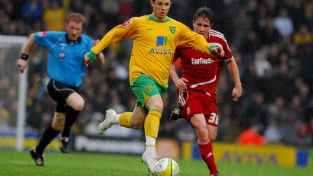 Jamie Cureton on the run. Picture: Nick Butcher