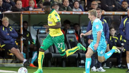 Alex Tettey's future was up in the air in the summer transfer window. Picture: Paul Chesterton/Focus