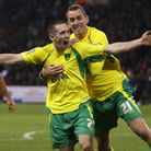 Andrew Crofts celebrates after scoring the second of his two goals in City's 2-1 win at Sheffield Un