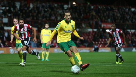 Mario Vrancic slotted a cool first half penalty. Picture: Paul Chesterton/Focus Images Ltd