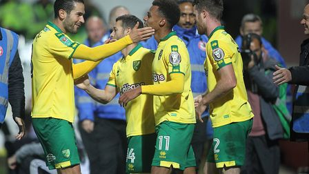 Josh Murphy sealed Norwich City's League Cup win at Brentford. Picture: Paul Chesterton/Focus Images