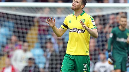 James Husband and the rest of Norwich City's defence have had to stomach conceding four goals in bot
