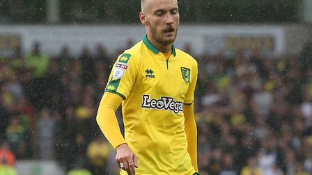 Tom Trybull made his first start for Norwich City. Picture by Paul Chesterton/Focus Images