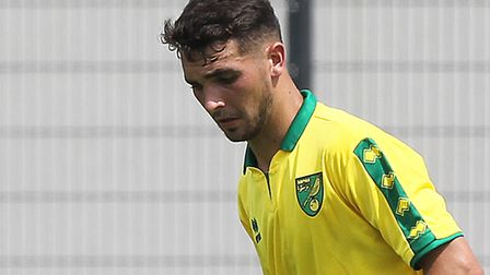 Adam Phillips equalised from the penalty spot for Norwich City U23s at Newcastle. Picture by Paul Ch
