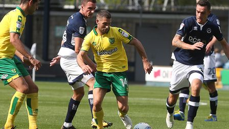 Should playmaker Wes Hoolahan retain his starting place for Norwich City's clash with Birmingham? Pi