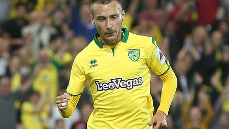 Tom Trybull is a surprise starter for Norwich City against Birmingham. Picture by Paul Chesterton/Fo