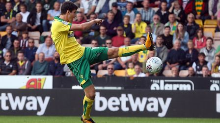Timm Klose looked at his calm best on his Norwich City return against Birmingham. Picture: Paul Ches