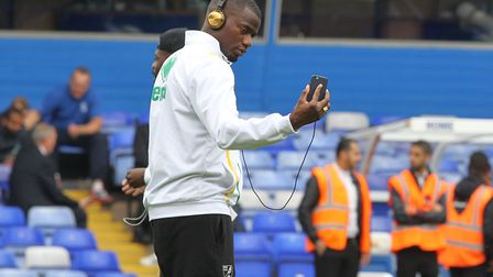 Sebastien Bassong at St Andrews last season - will it soon become his home ground? Picture: Paul Che