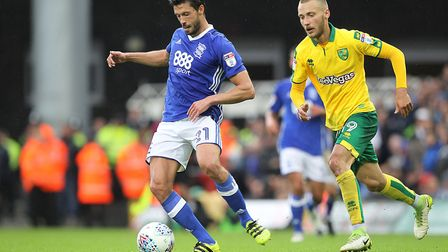 Tom Trybull is a key figure already for the Canaries. Picture: Paul Chesterton/Focus Images Ltd