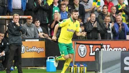 Grant Hanley is back in contention after being cup-tied at Griffin Park. Picture: Paul Chesterton/Fo