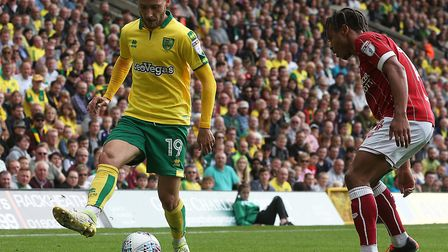 Tom Trybull was our pick for Norwich City's man-of-the-match award, do you agree? Picture by Paul Ch