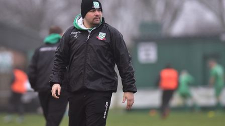 Ricci Butler has left his role as Gorleston manager. Picture: Nick Butcher