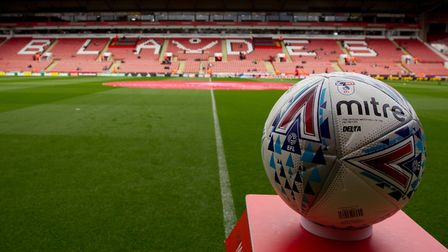 One of the more peaceful images from the weekend at Bramall Lane. Picture: Michael Sedgwick/Focus Im