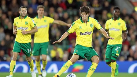 Timm Klose helped City to another clean sheet...but it was a frustrating night against Burton. Pictu