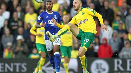 Tom Trybull is refusing to get carried away after a bright start to his Norwich City career. Picture