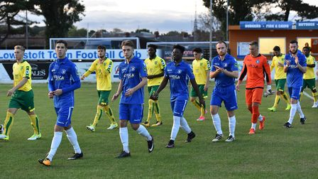Lowestoft Town v Norwich City Under-23s at Crown Meadow, Lowestoft. Picture: James Bass