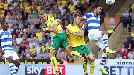 Marcel Franke, left, and Christoph Zimmermann were two of Norwich City's early summer arrivals. Pict