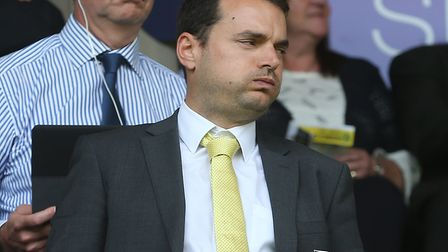 It's been a busy transfer window for Norwich City's sporting director Stuart Webber. Picture by Paul