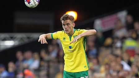 Norwich City left-back Harry Toffolo has joined Doncaster on loan until January. Picture by Paul Che