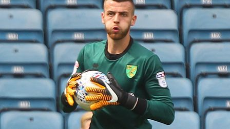 Angus Gunn started for the England U21s earlier today. Picture by Paul Chesterton/Focus Images Ltd