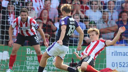 Raggett made a crucial tackle on Luton midfielder Luke Berry in the 59th minute, clearing up after s