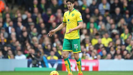 Timm Klose could feature for a Norwich City XI against Lowestoft Town on Tuesday night. Picture: Pau