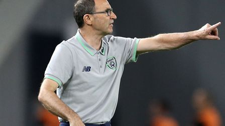 Republic of Ireland manager Martin O'Neill during the 2018 FIFA World Cup Qualifying, Group D match